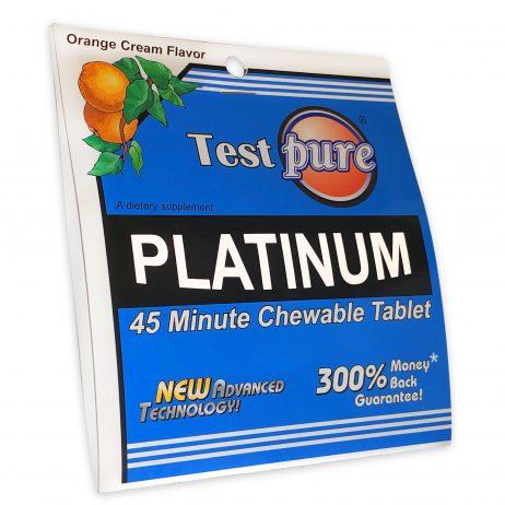 Test Pure® Platinum 45 Minute Chewable Tablet